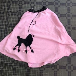 Adult Poodle Skirt Size Medium